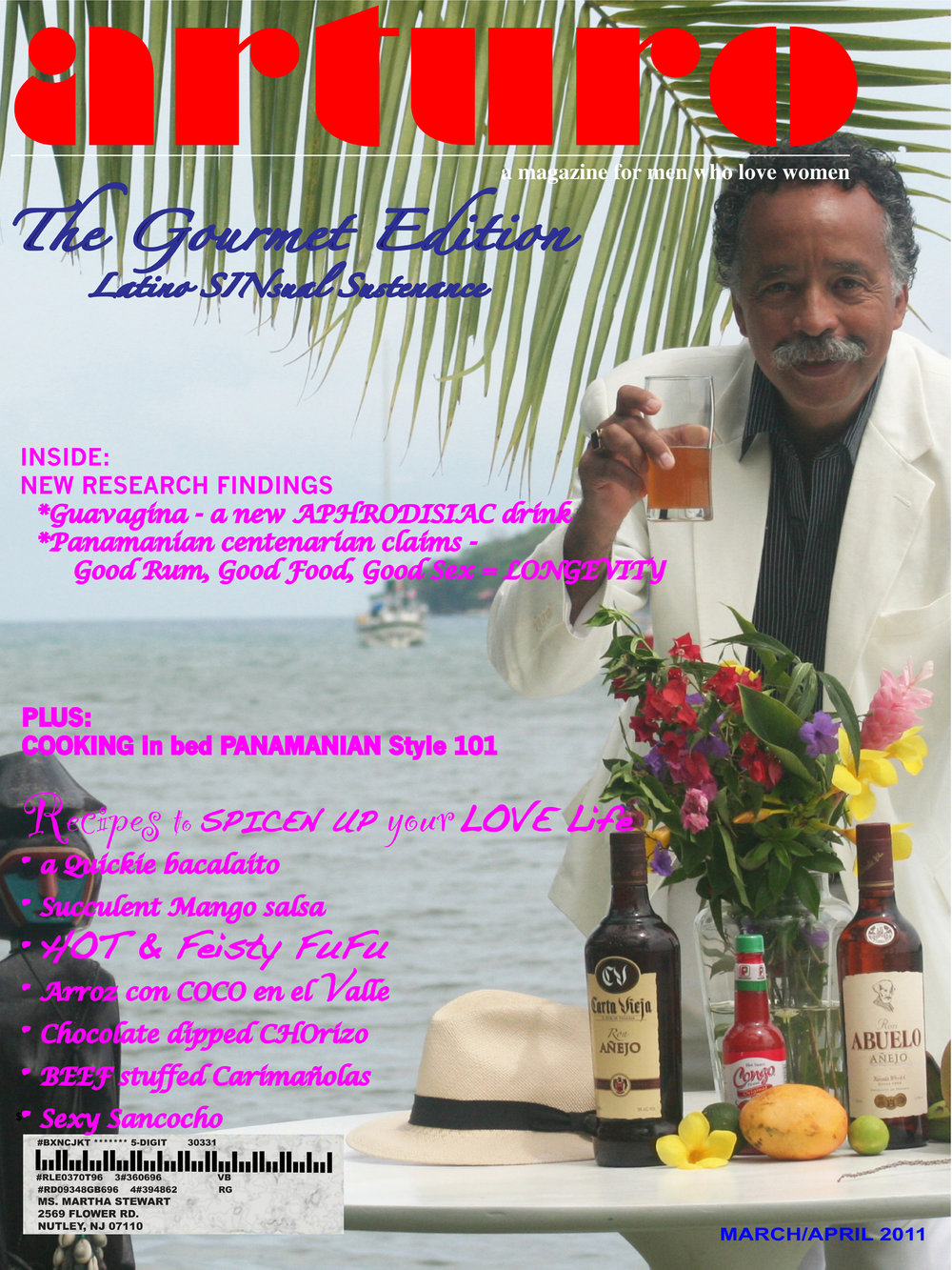 Arturo Magazine, The Gourmet Edition – Latino SINsual Sustenance