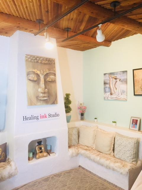 Healing Ink Studio was created as a Sacred Sanctuary