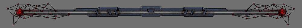 As I was creating the weapon icons I also decided to redo the health bar to better match the art style of the game.