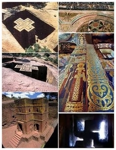 Lalibela's  rock-hewn medieval churches
