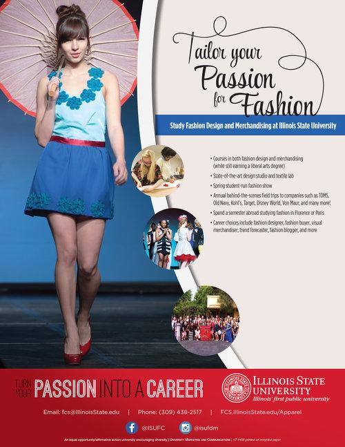 fashion design flyer kelley milligan