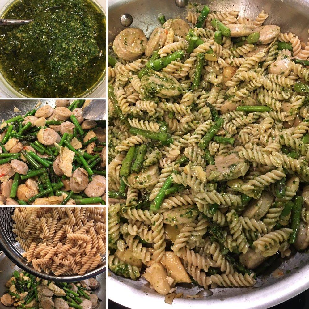 The pasta process, summarized.