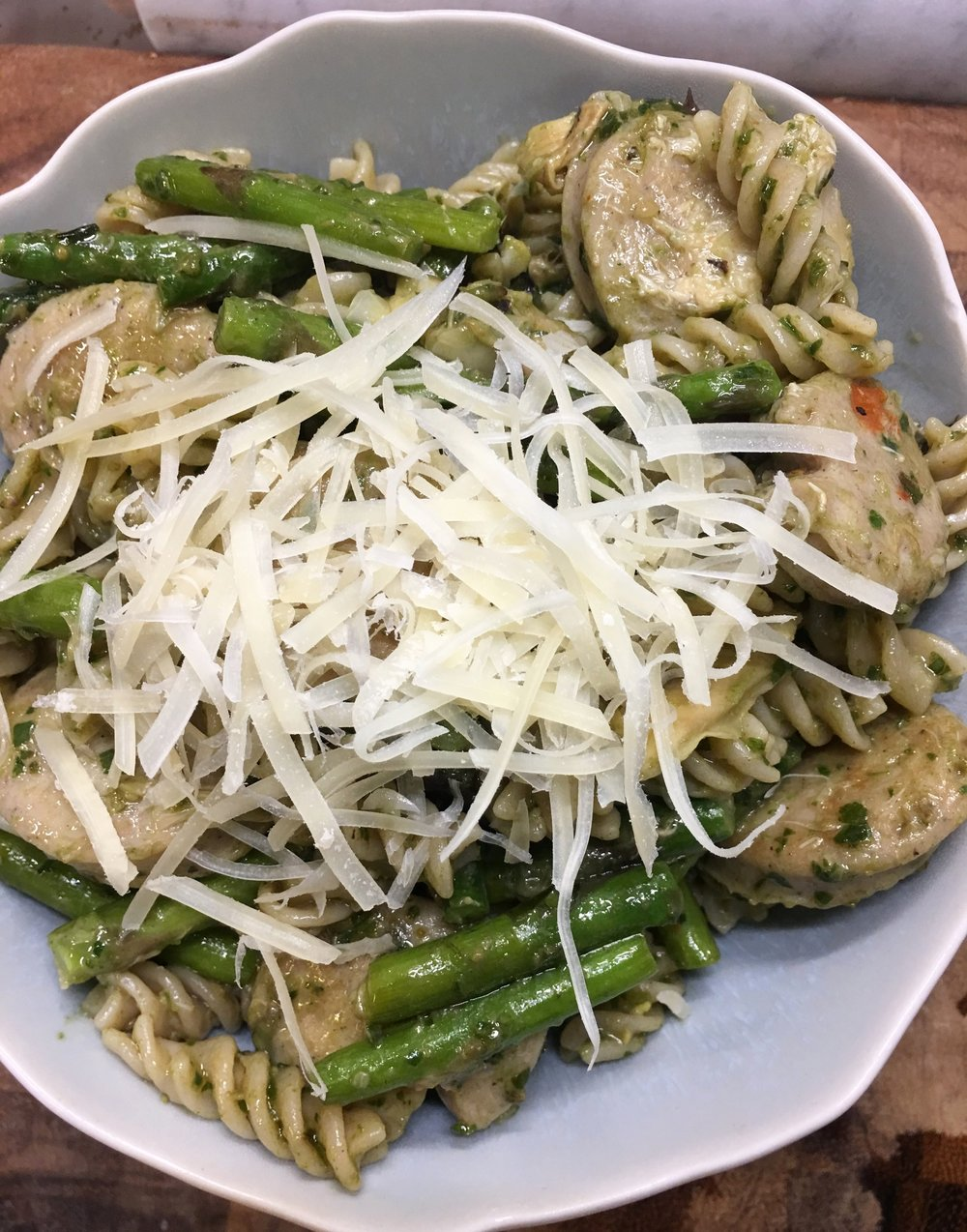 Pasta Tuesday.