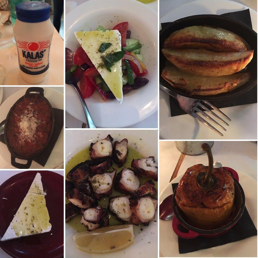 So many great GF dishes at Kava Neo-Taverna.