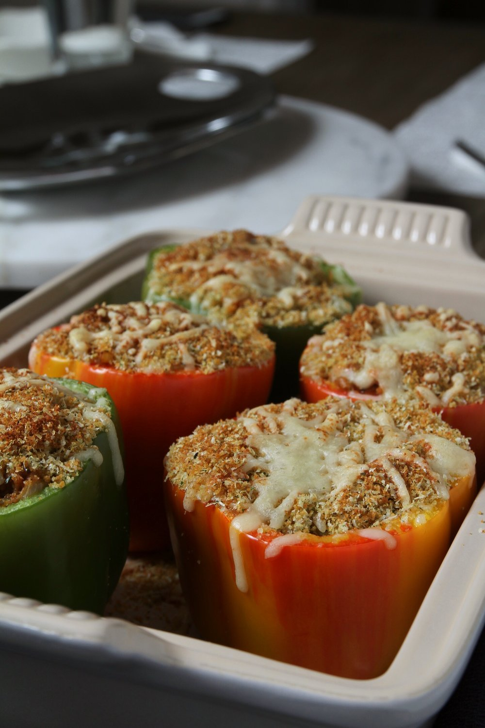 Ultimate stuffed peppers