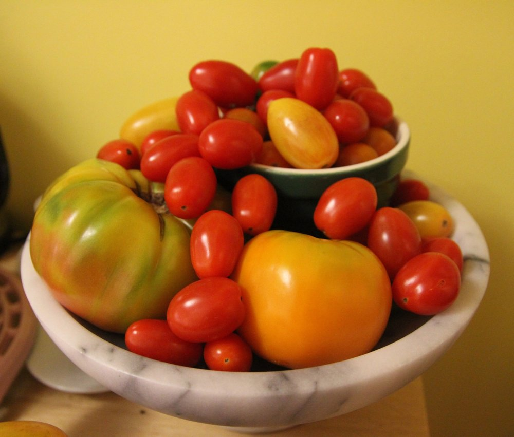 Turned our fruit bowl into a tomato bowl. So it's still a fruit bowl. ;)