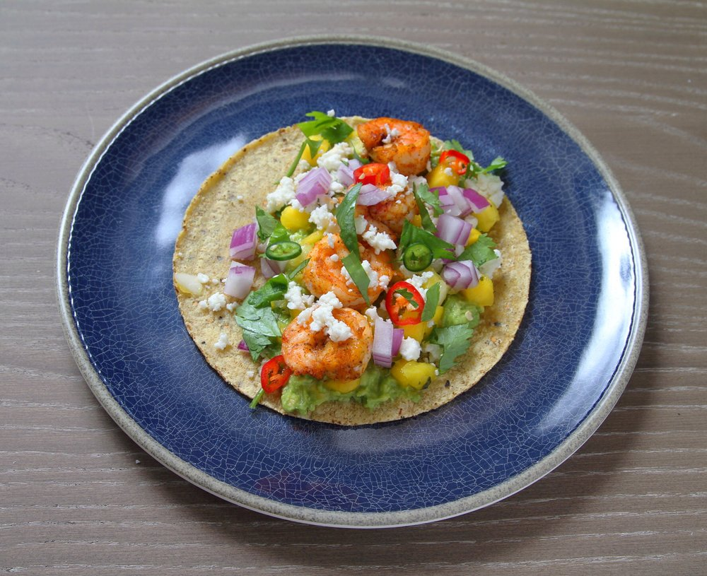 Some warm weather this week had me in the mood for bright, summer flavors! Tacos all the time, please.