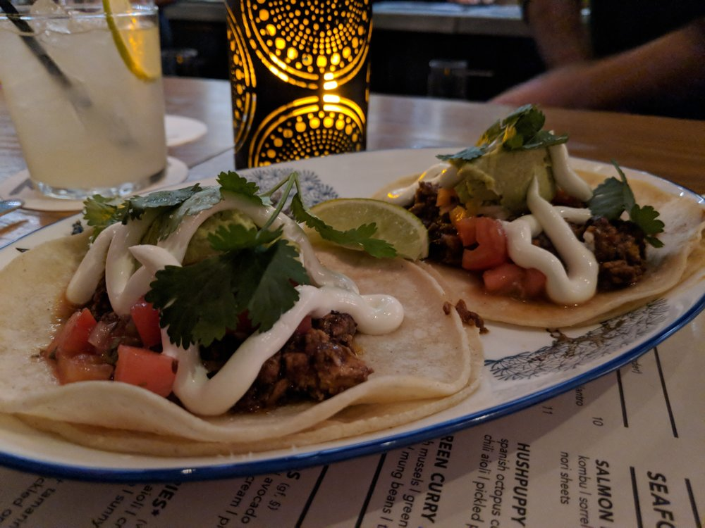 Mapo Tacos at Banyan Bar and Refuge. Amazing.