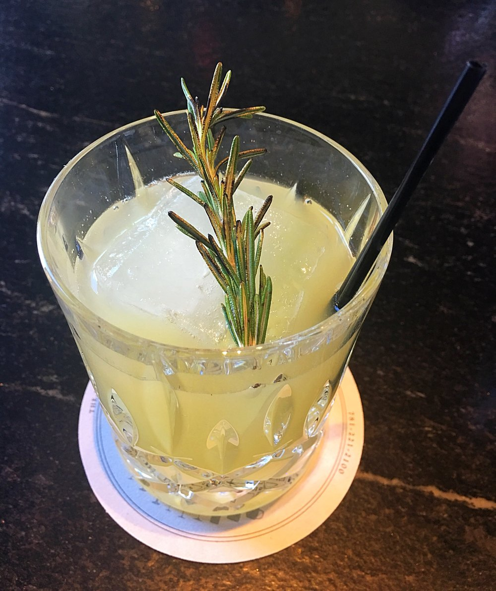 My winter cocktail: El Barrio at The Bancroft