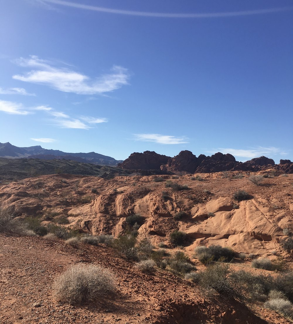 Valley of Fire State Park in Nevada. Let's go back!