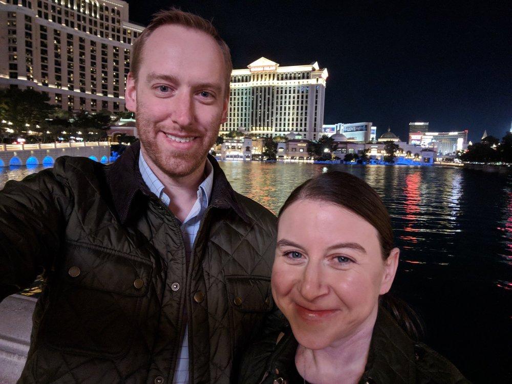 Las Vegas Strip - selfie!