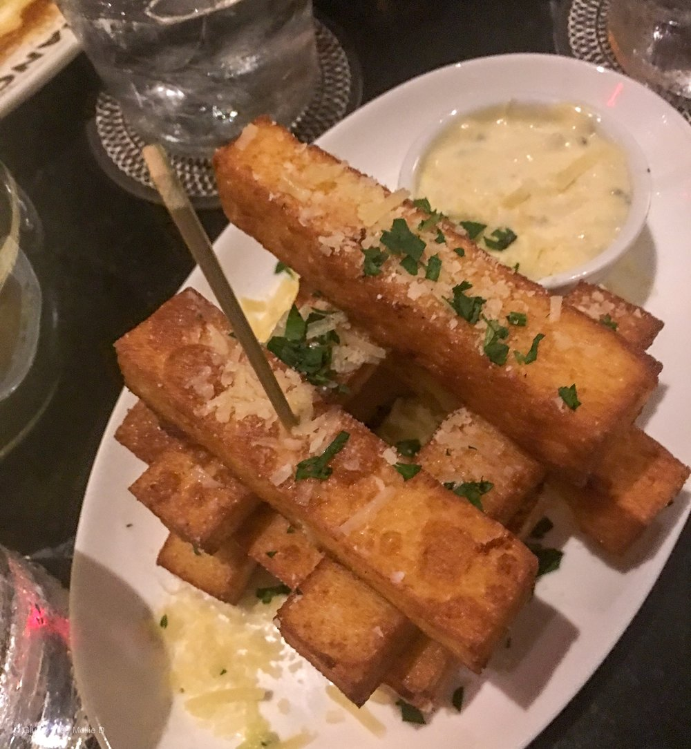 Polenta fries > regular fries