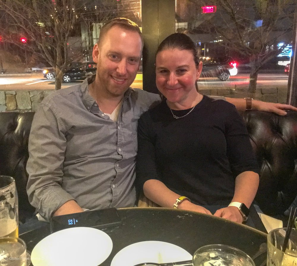 Snapped by my brother-in-law at my sister's birthday dinner! I know, we look tired...it was a weeknight. 🤷‍♀️