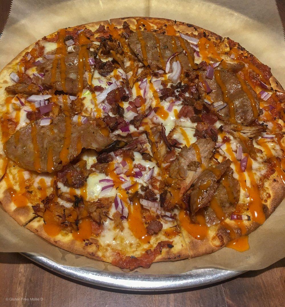 Whole Hog on GF crust