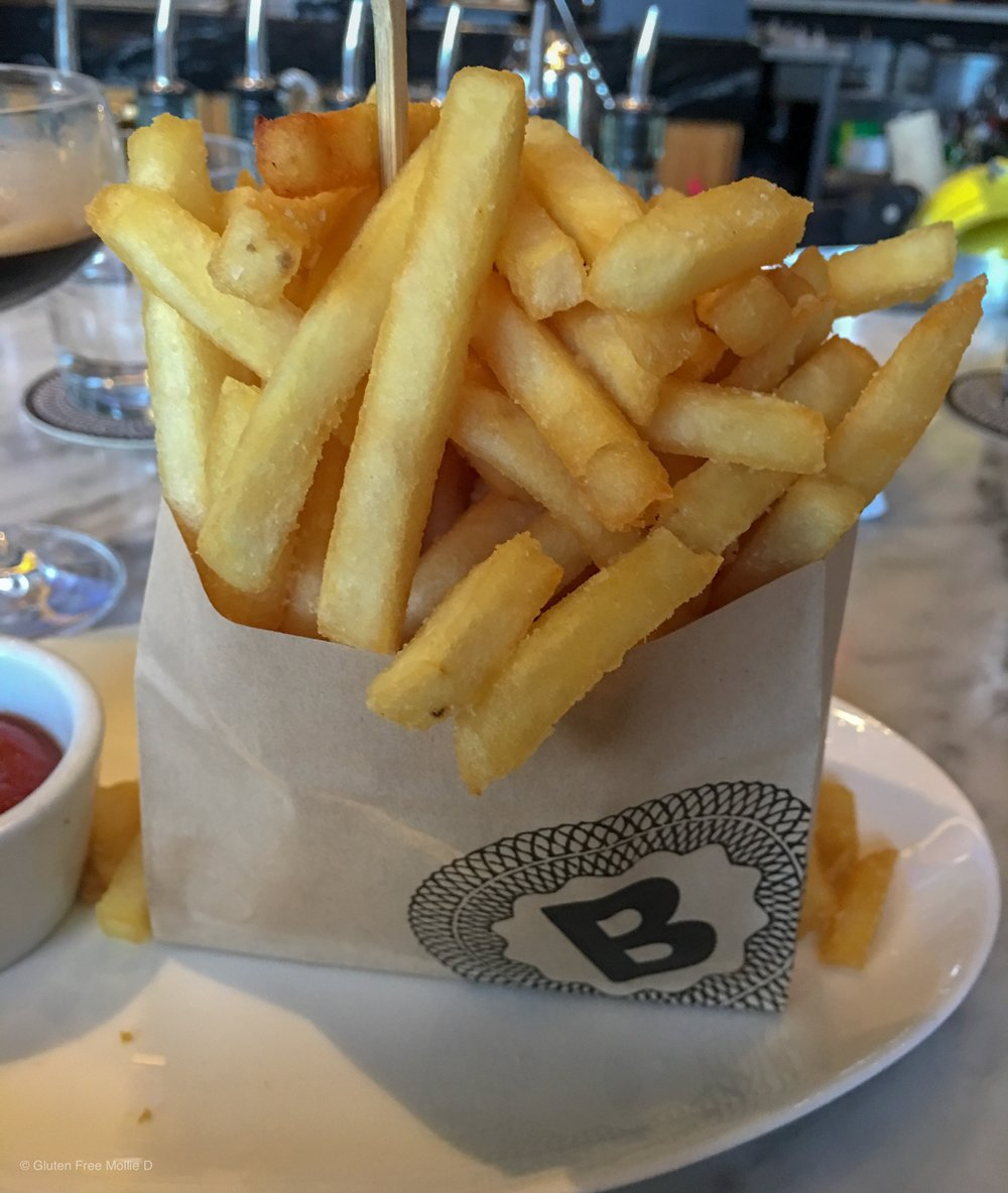 Above-mentioned fries. Yum.