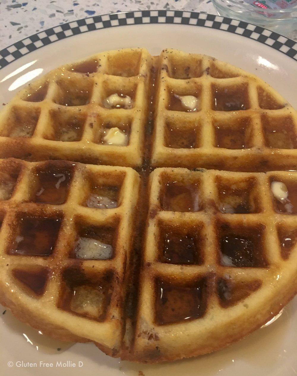 Bacon waffle.