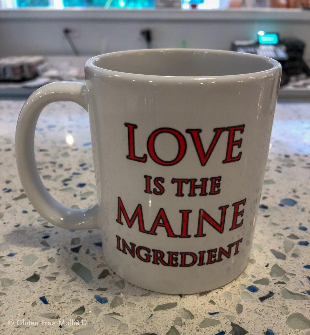 Amore coffee mug. :)