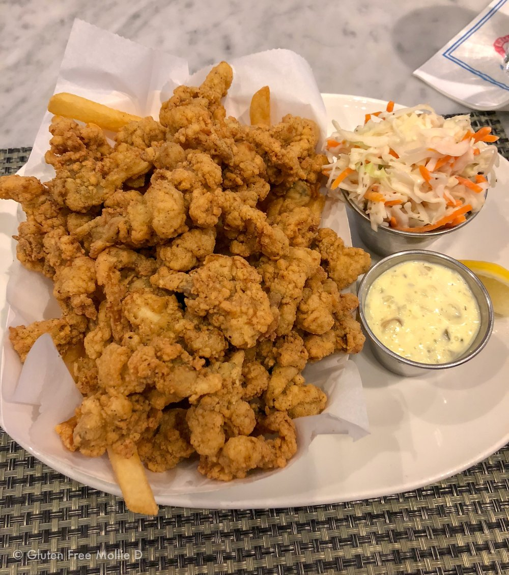 Fried clams on Saturday night: Birthday-eve awesome.