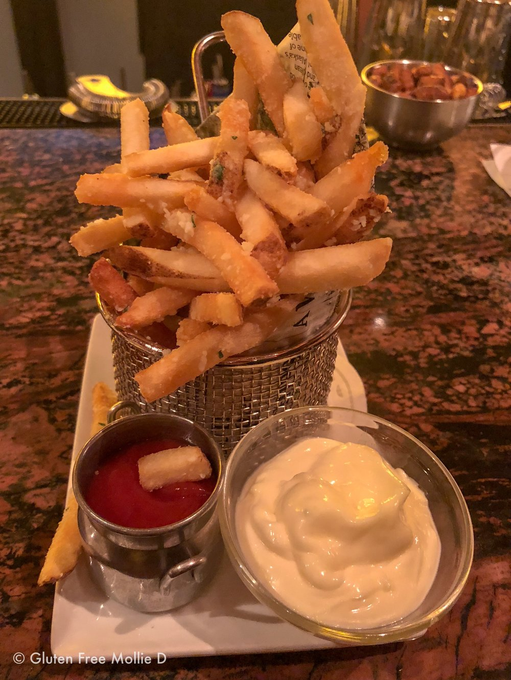 My dessert fries.