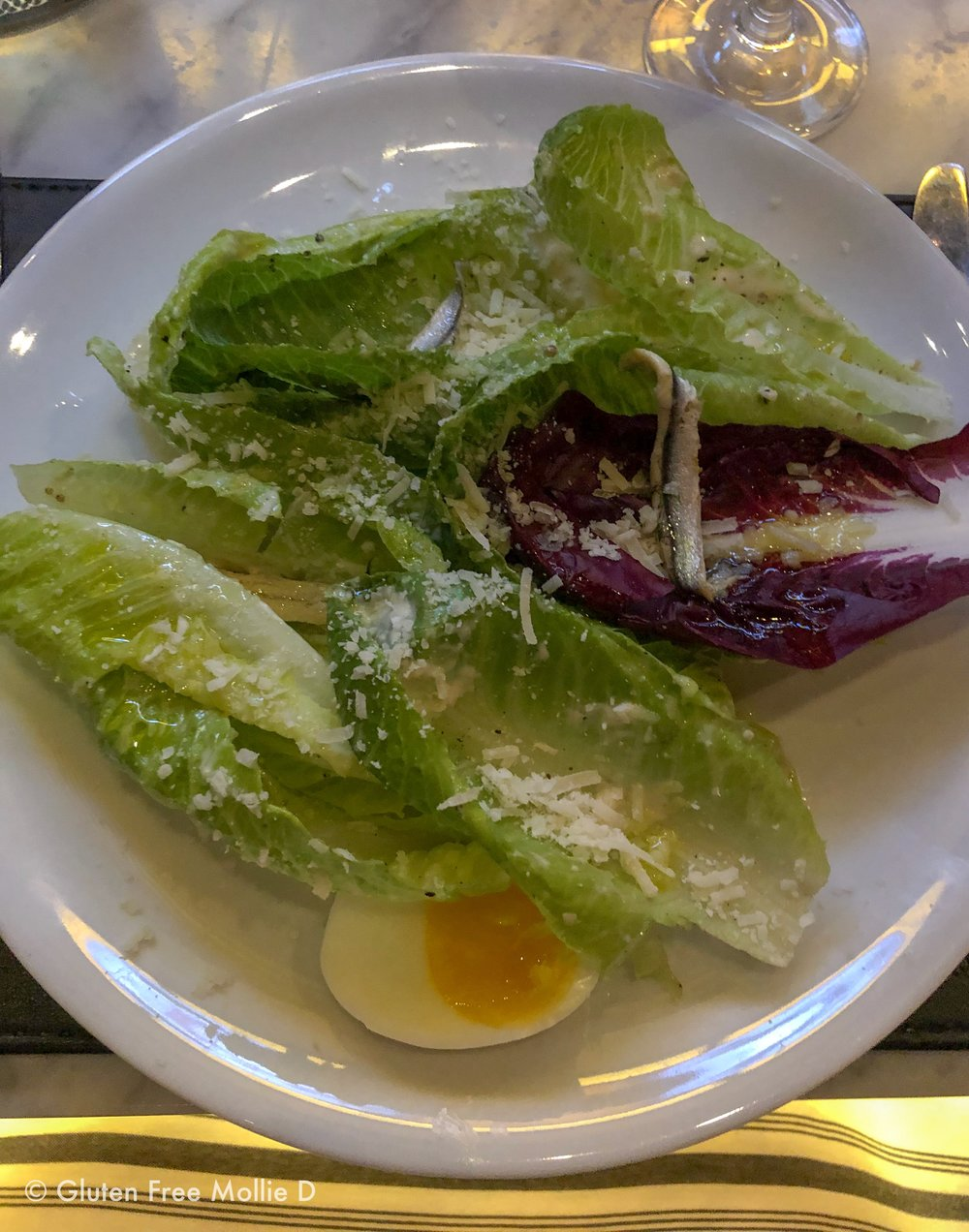 Love a Caesar Salad. This one is at The Bancroft.