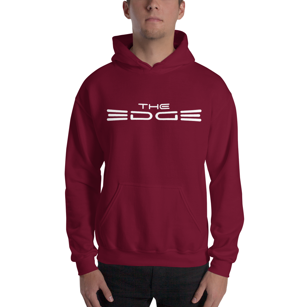 """The Edge"" Hoody (Maroon)"