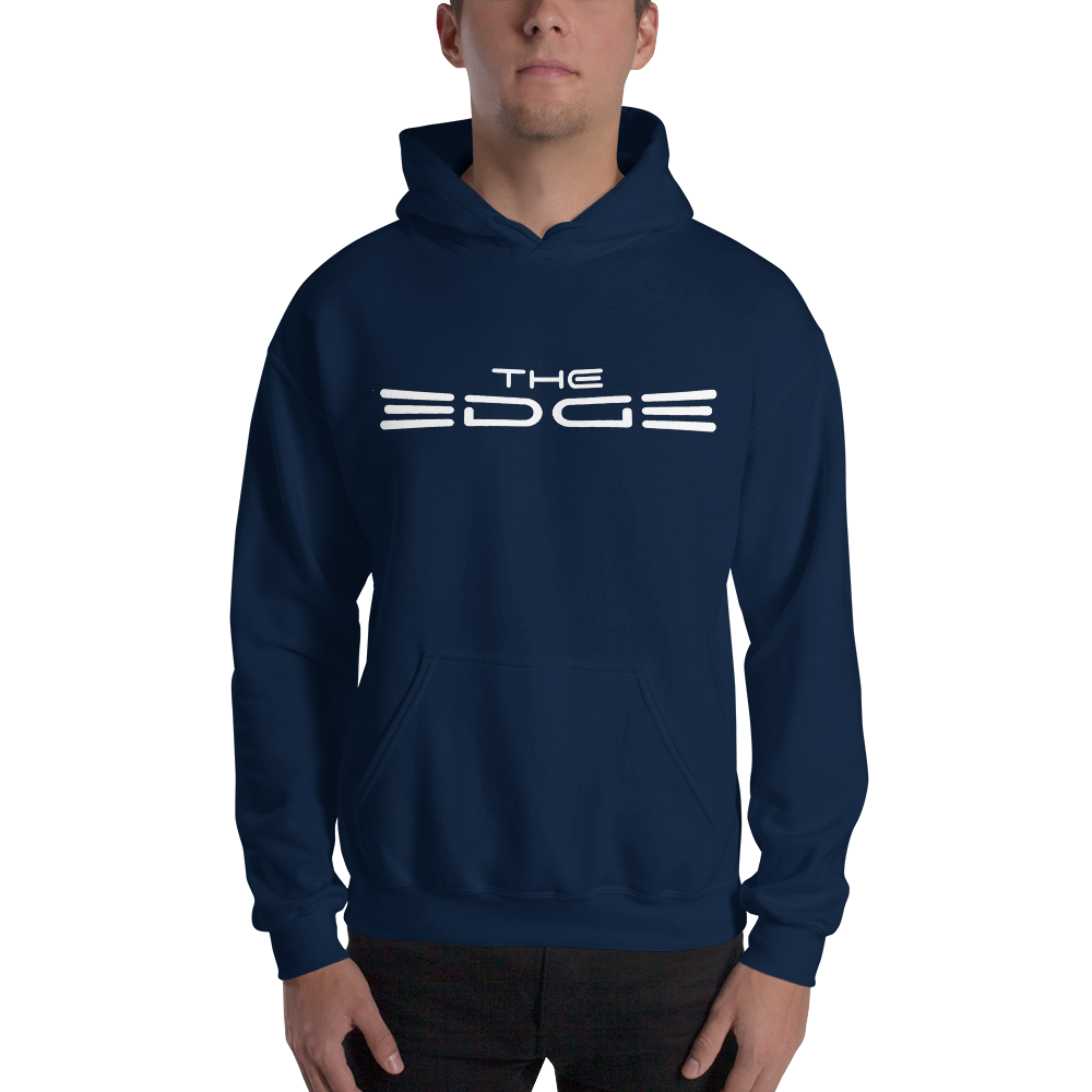 """The Edge"" Hoody (Navy)"