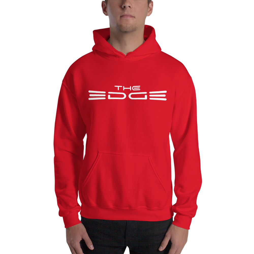 """The Edge"" Hoody (Red)"