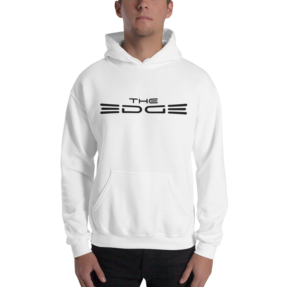 """The Edge"" Hoody (White)"