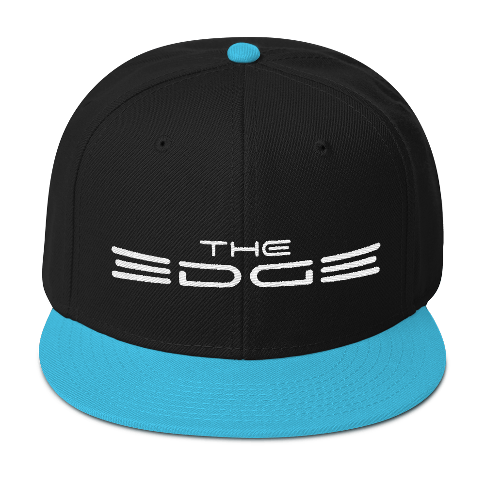 """The Edge"" Snapback (Blue)"