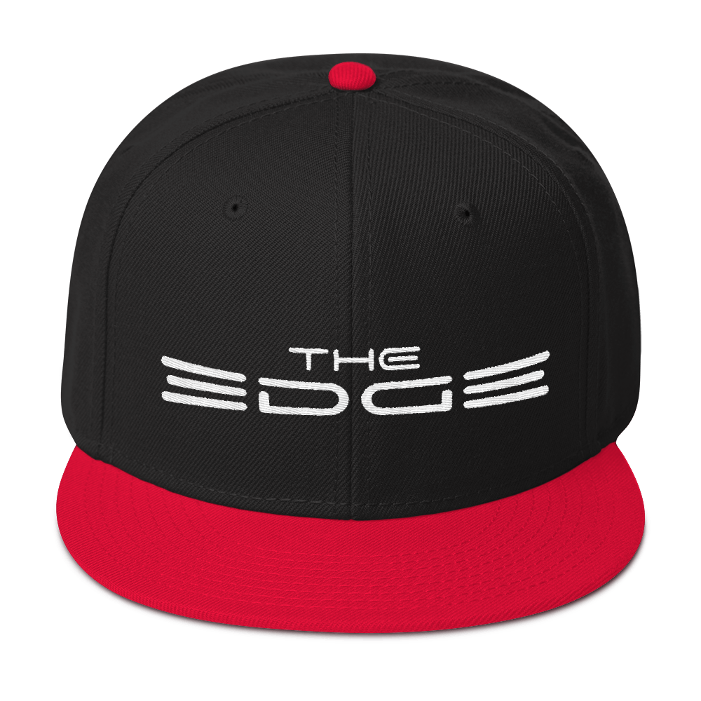 """The Edge"" Snapback (Black/Red)"
