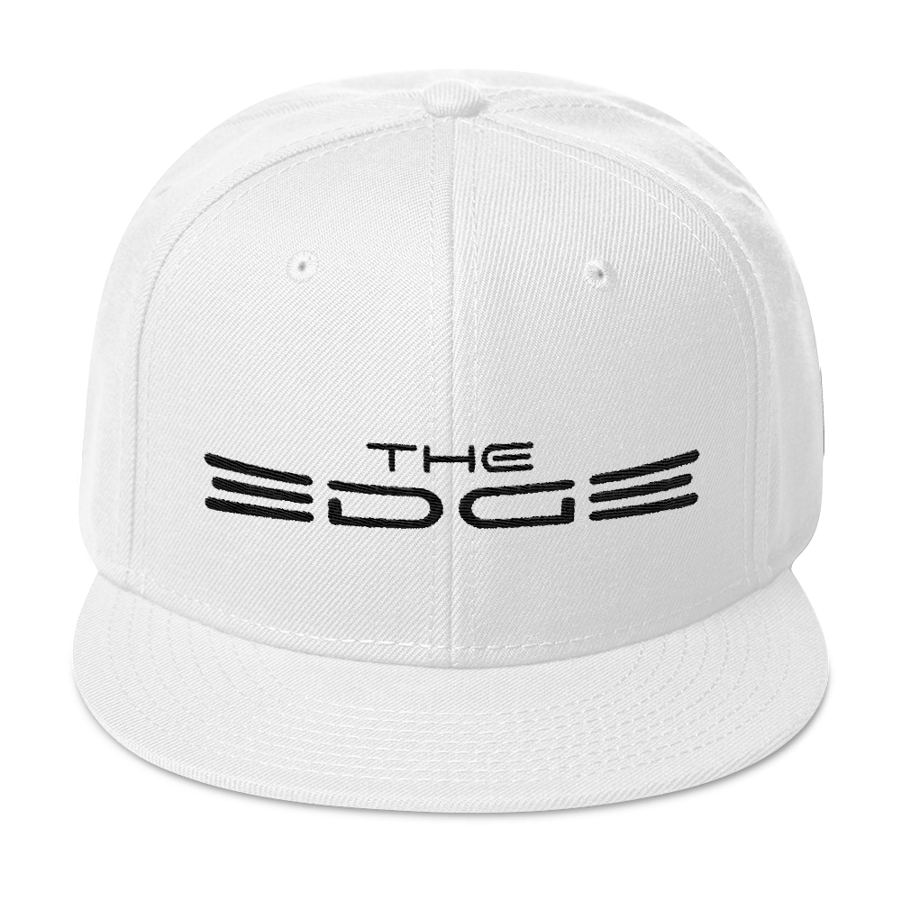 """The Edge"" Snapback (White)"
