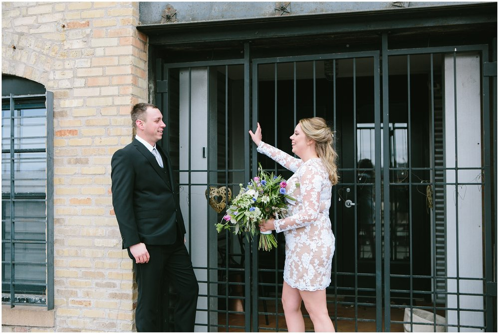 Intimate Grand Avenue Wedding