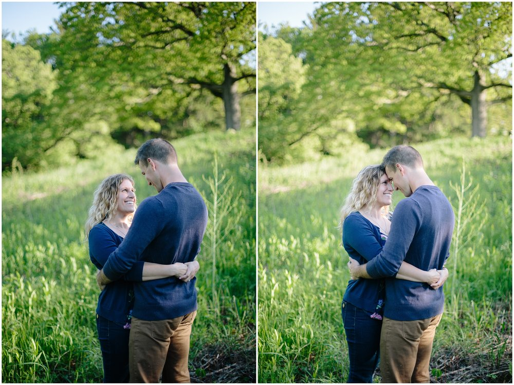 Theodore Wirth Park Engagement Session