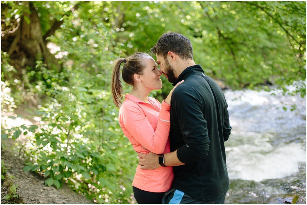 Minnehaha Falls Engagement Session