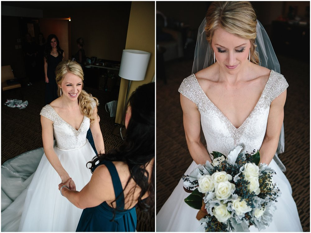 Winter Wedding at The Millennium Hotel Minneapolis