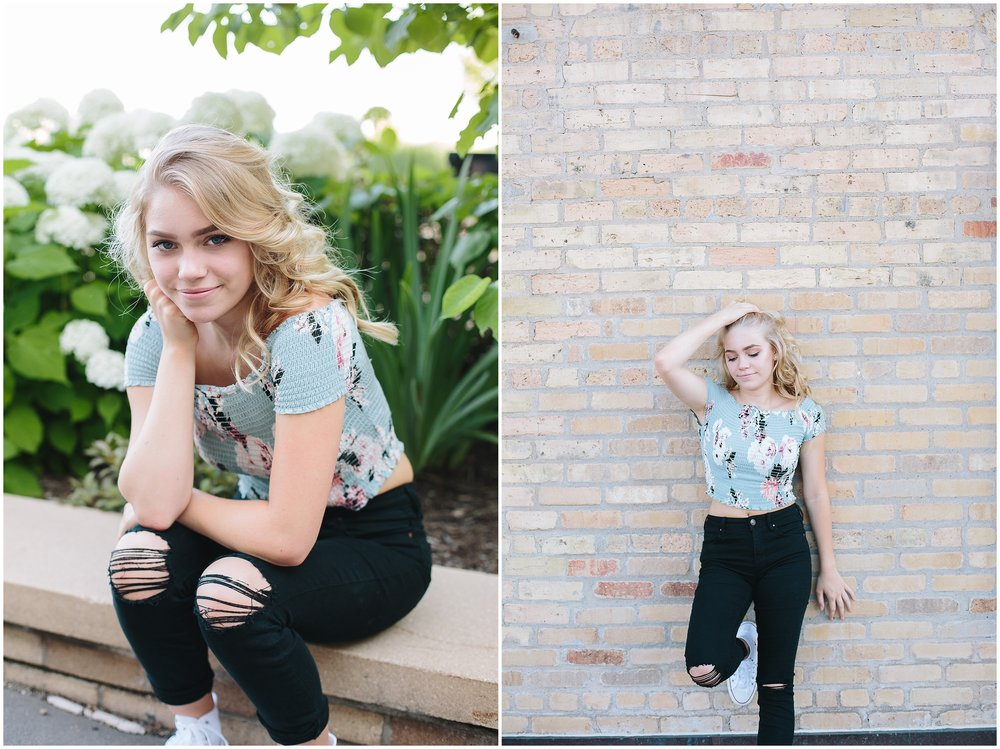 Lauren Baker Photography Senior Photography session in Minneapolis