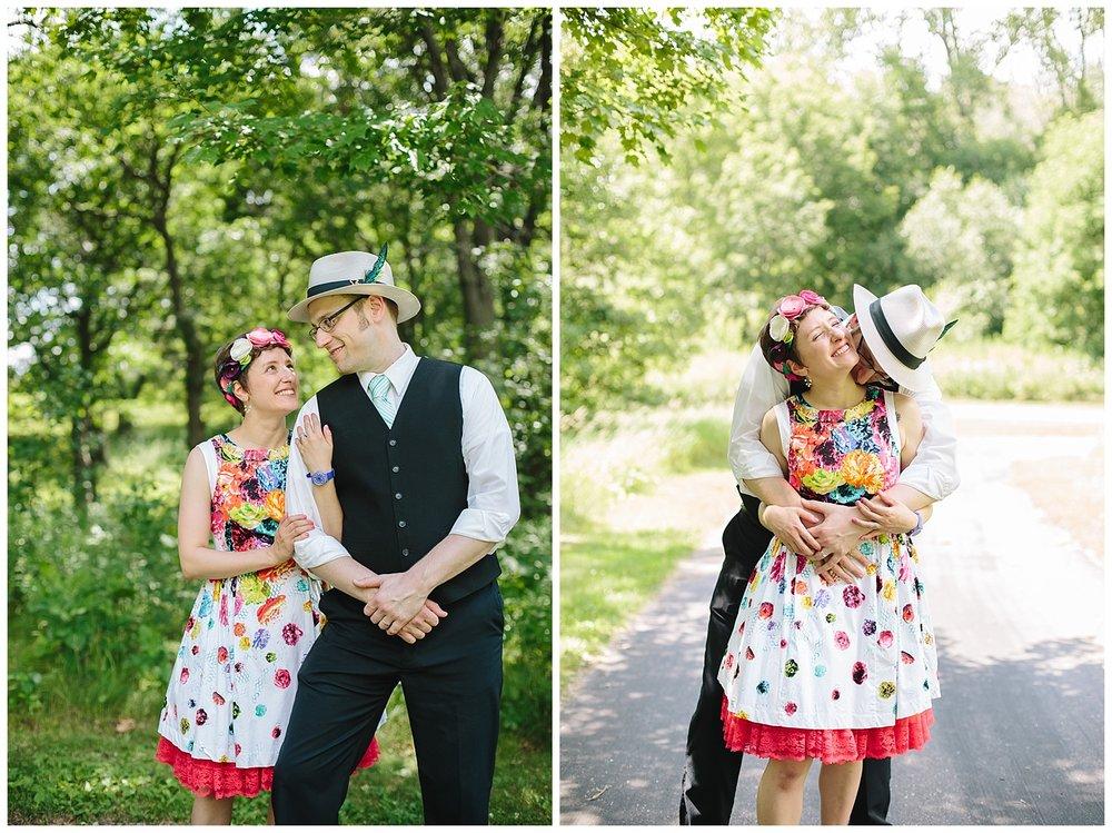 Snail Lake Regional Park wedding