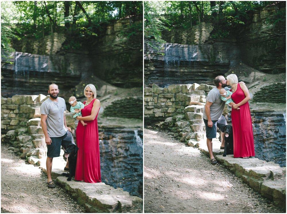 Hidden Falls Regional Park Family Session