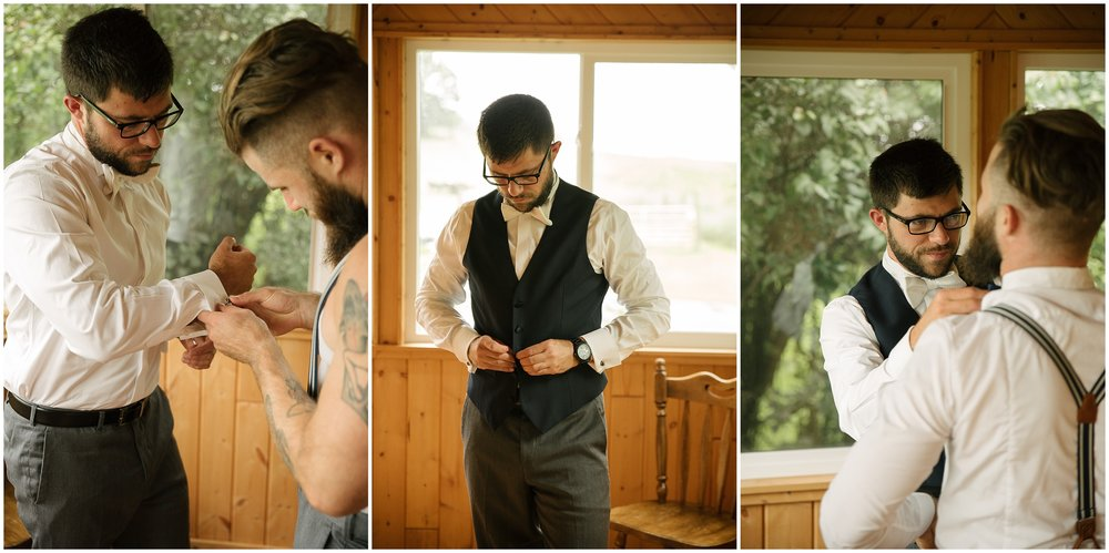The Weddin' Barn Summer wedding