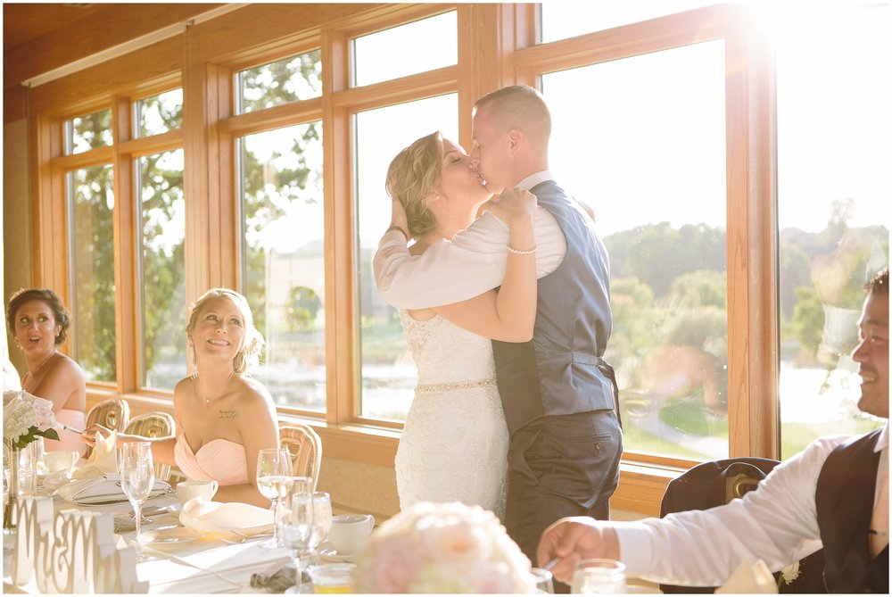 Mendakota Country Club Summer wedding