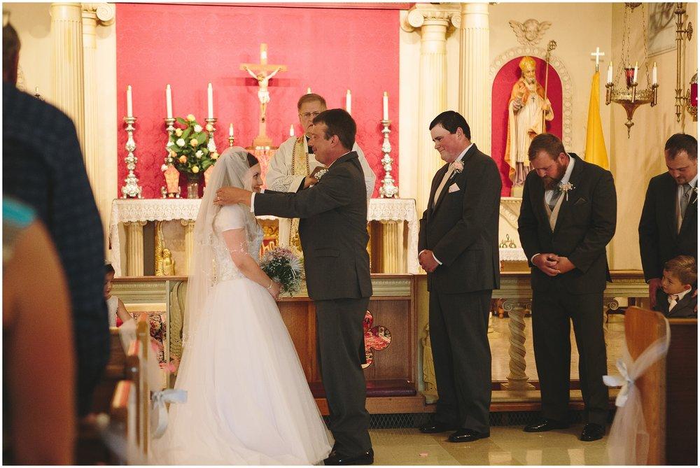 St. Anne's Chapel Summer wedding