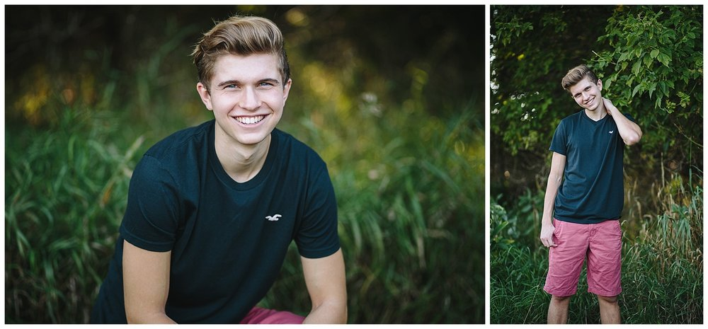 Forest Lake Senior Photography