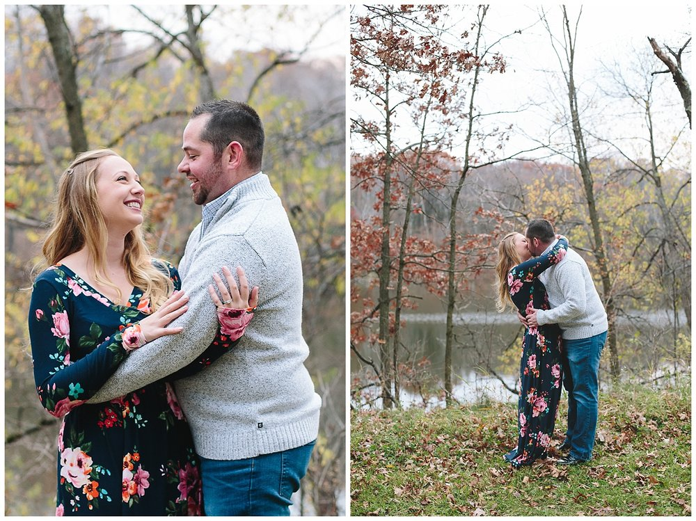 Lauren Baker Photography Lebanon Hills Regional Park Engagement Session