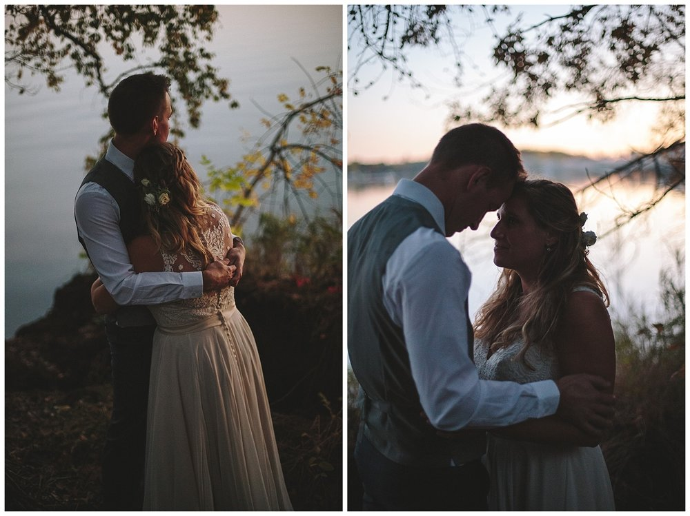 Lauren Baker Photography bride and groom portrait