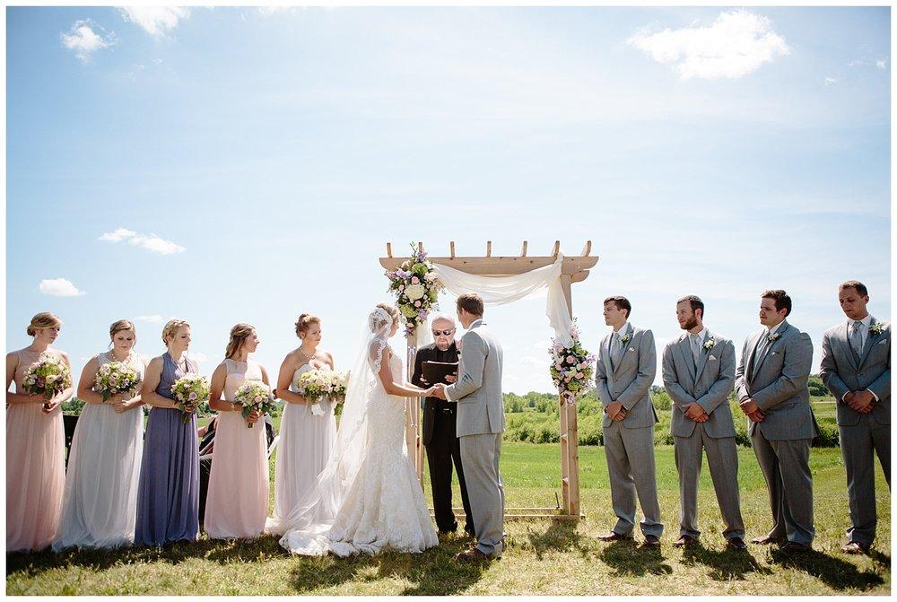 Lauren Baker Photography Dellwood Barn Weddings ceremony