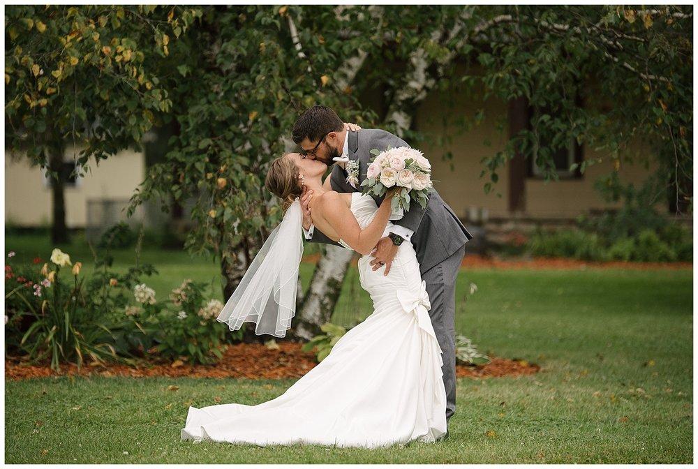 Lauren Baker Photography bride and groom The Weddin Barn