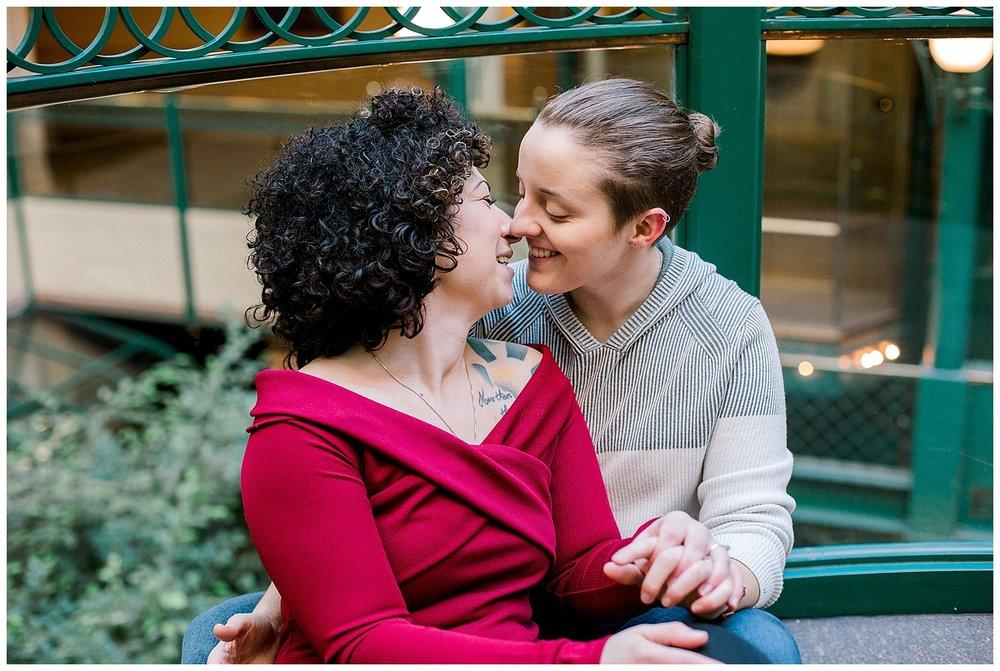 Gay weddings Minnesota Engagement session