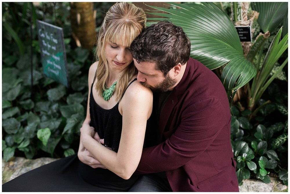 Lauren Baker Photography Como Conservatory engagement session