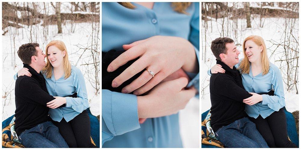 Lauren Baker Photography Lebanon Hills Regional Park engagement session