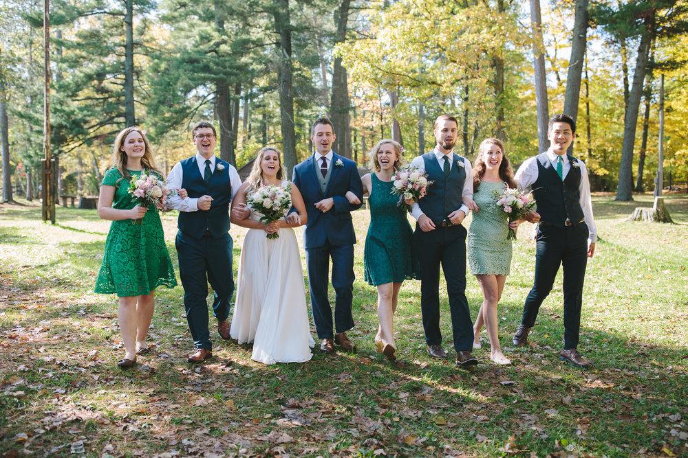 Lauren Baker Photography full day wedding party